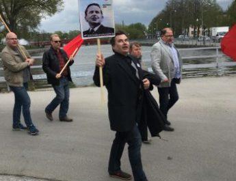 Fredrik Strömqvist – en genuin socialdemokrat i första-maj-tåget